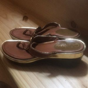 Cole Haan Nike air sandals size 7B